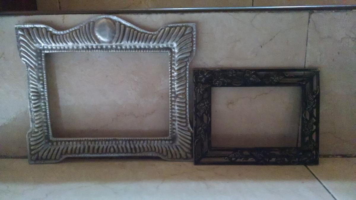 Juego Marcos Metal Antiguo Color Plata Foto Portaretrato - $ 650.00 ...