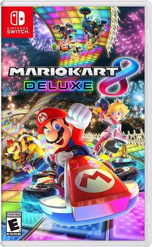 juego mario kart 8 deluxe para nintendo switch disponible ya