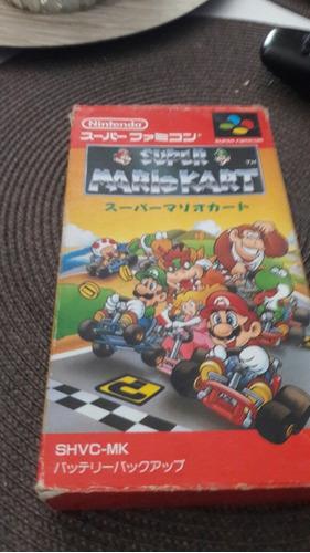 juego mario kart super famicom