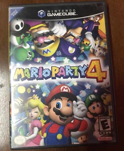 juego mario party 4 game cube