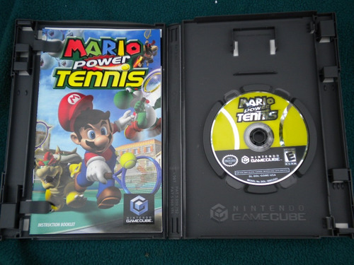juego mario power tennis para nintendo gamecube