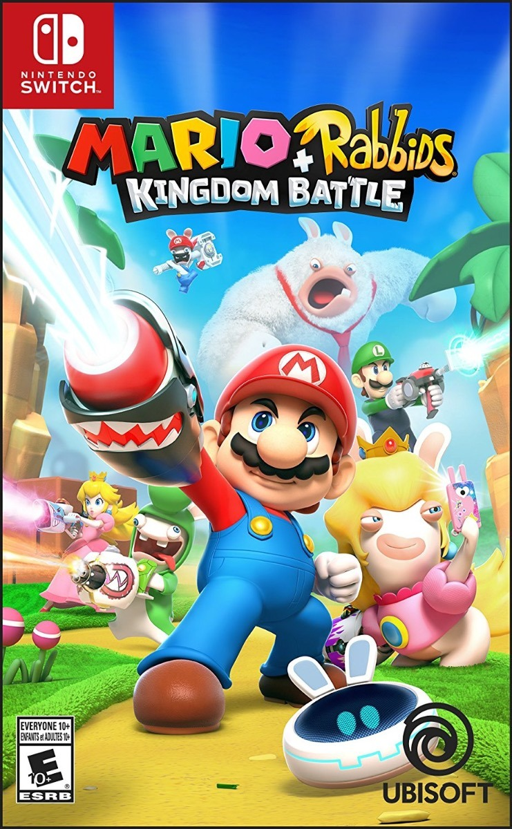 Juego Mario Rabbids Kingdom Battle Para Nintendo Switch