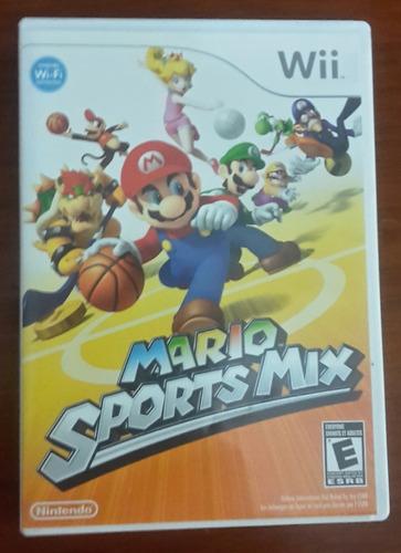 juego mario sports mix wii