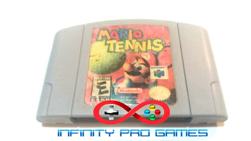 juego mario tennis para nintendo 64 original con garantia