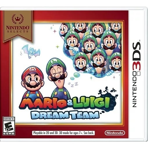 Juego Mario Y Luigi Dream Team 3ds Nintendo 3ds Nuevo 99 990 En