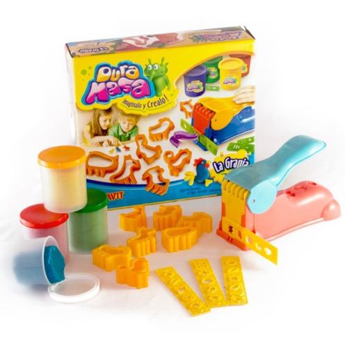 juego masas infantiles duravit la granja c/accesorios