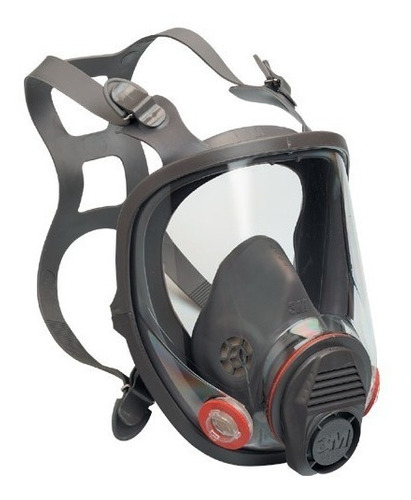 juego mascara full face antigas 6800 3m filtro pintura gas