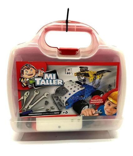 juego mecano armamec valija 95 piezas herramientas reales