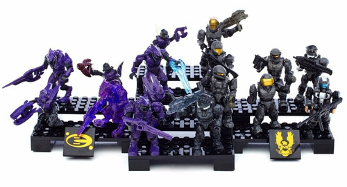 juego mega bloks halo exclusive ultimate battle collector