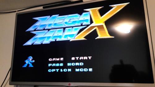 juego mega man x super nintendo snes original