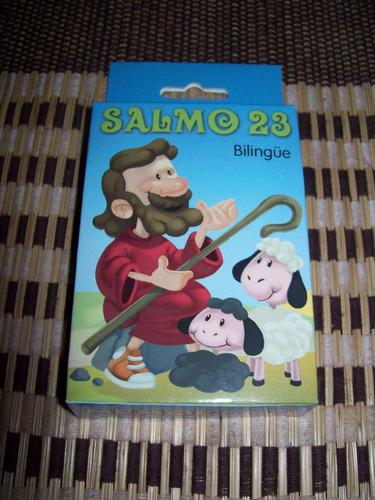 juego memorama salmo 23 bilingue
