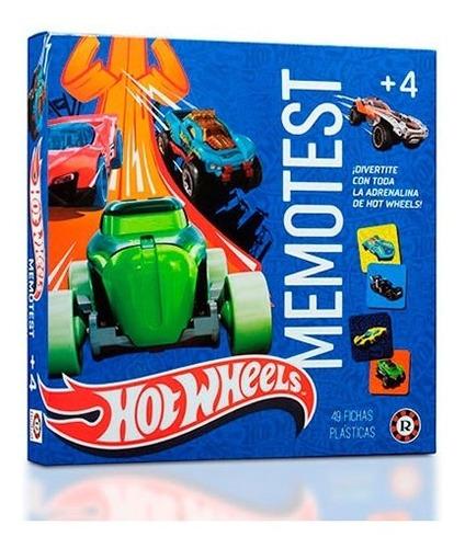 juego memoria memotest hot wheels ruibal mattel en cadia