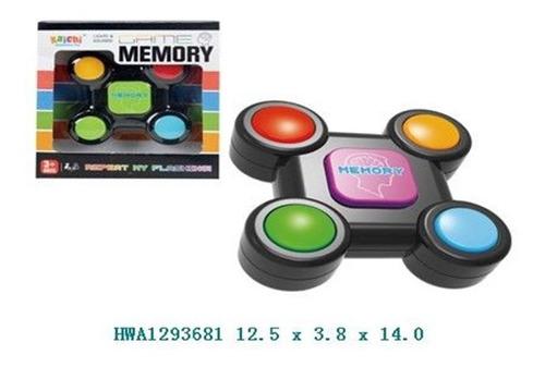juego memory, similar al simon, segui las luces...
