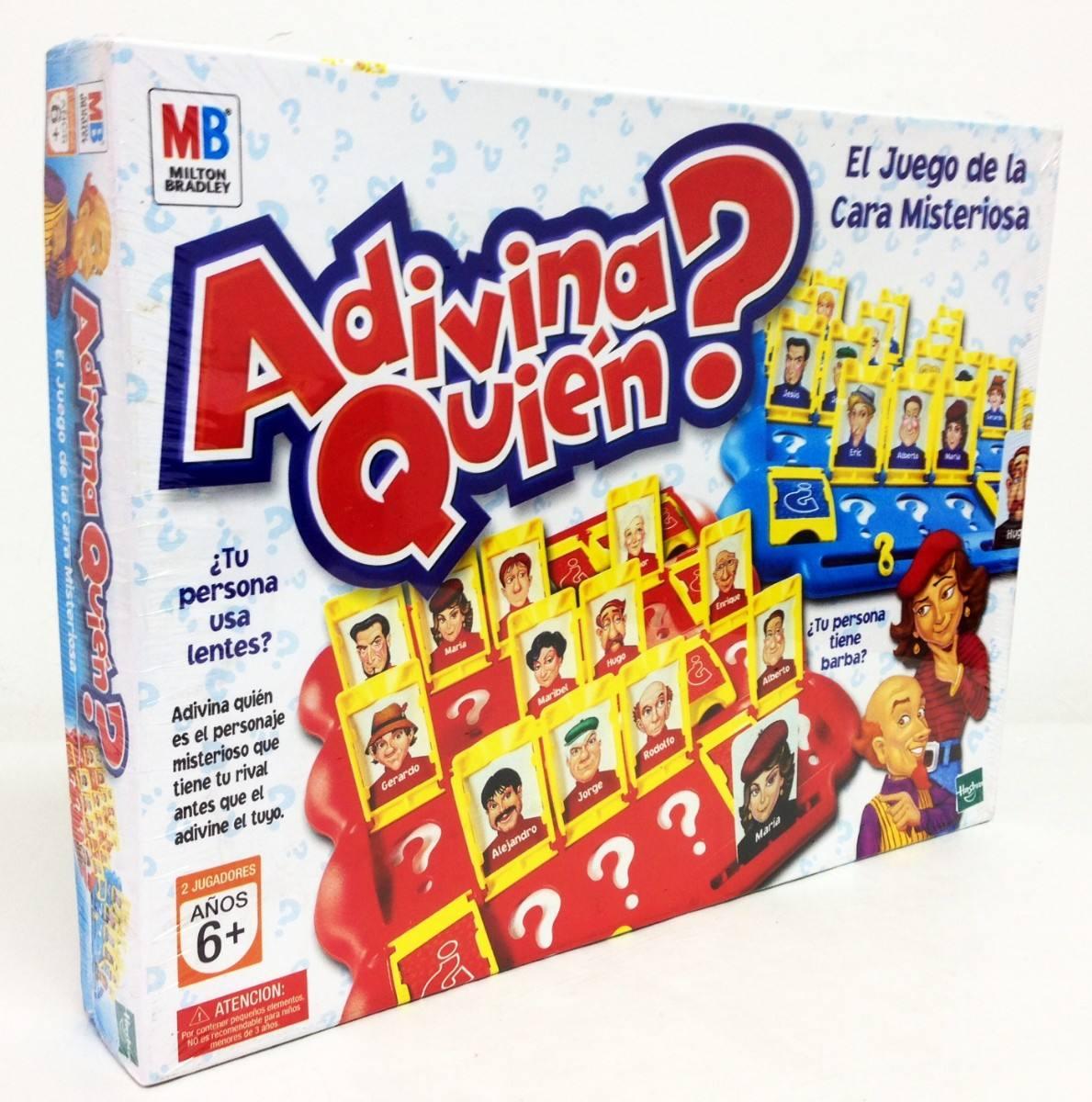 Adivina Quien Edicion Clasico Juego Mesa Original Hasbro 589