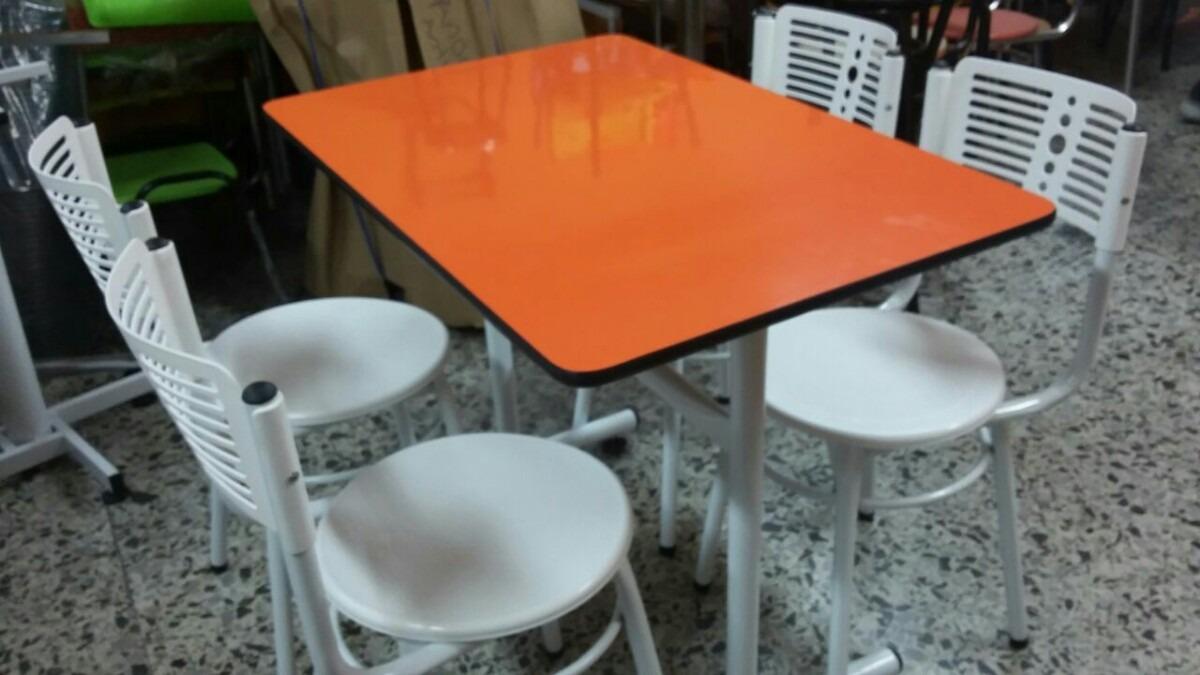 Juego mesa comedor madera y 4 sillas para restaurante bar for Comedor 4 sillas madera