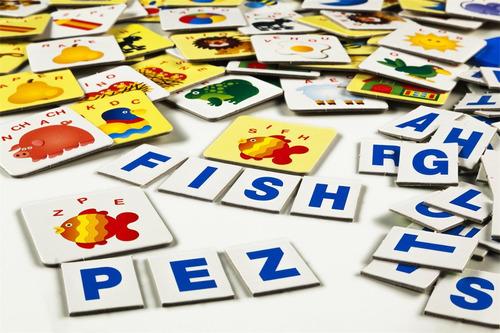 juego mesa didactico descubriendo palabras original ruibal