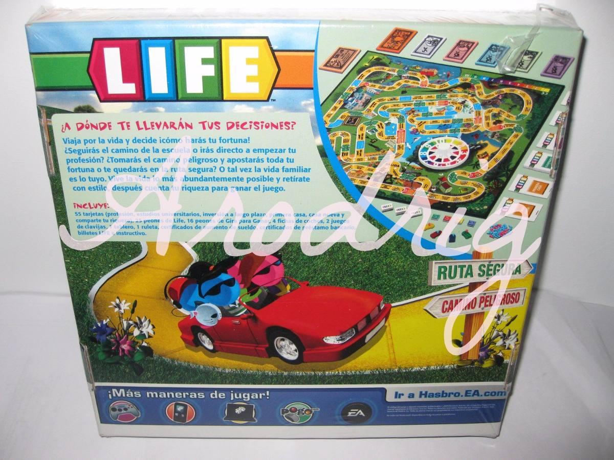 Juego De Mesa Life Original De Hasbro El Juego De La Vida Bs