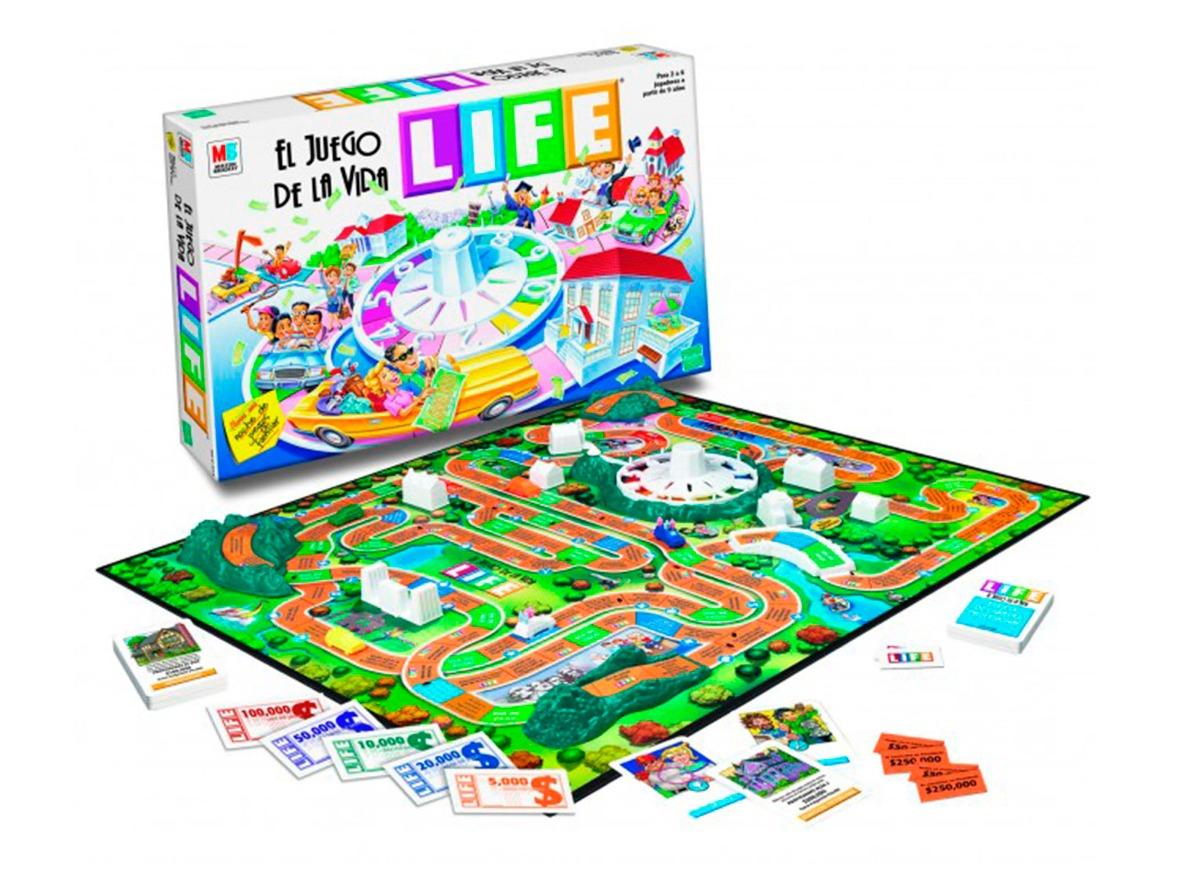 Juego De Mesa Life El Juego De La Vida 1 530 00 En Mercado Libre