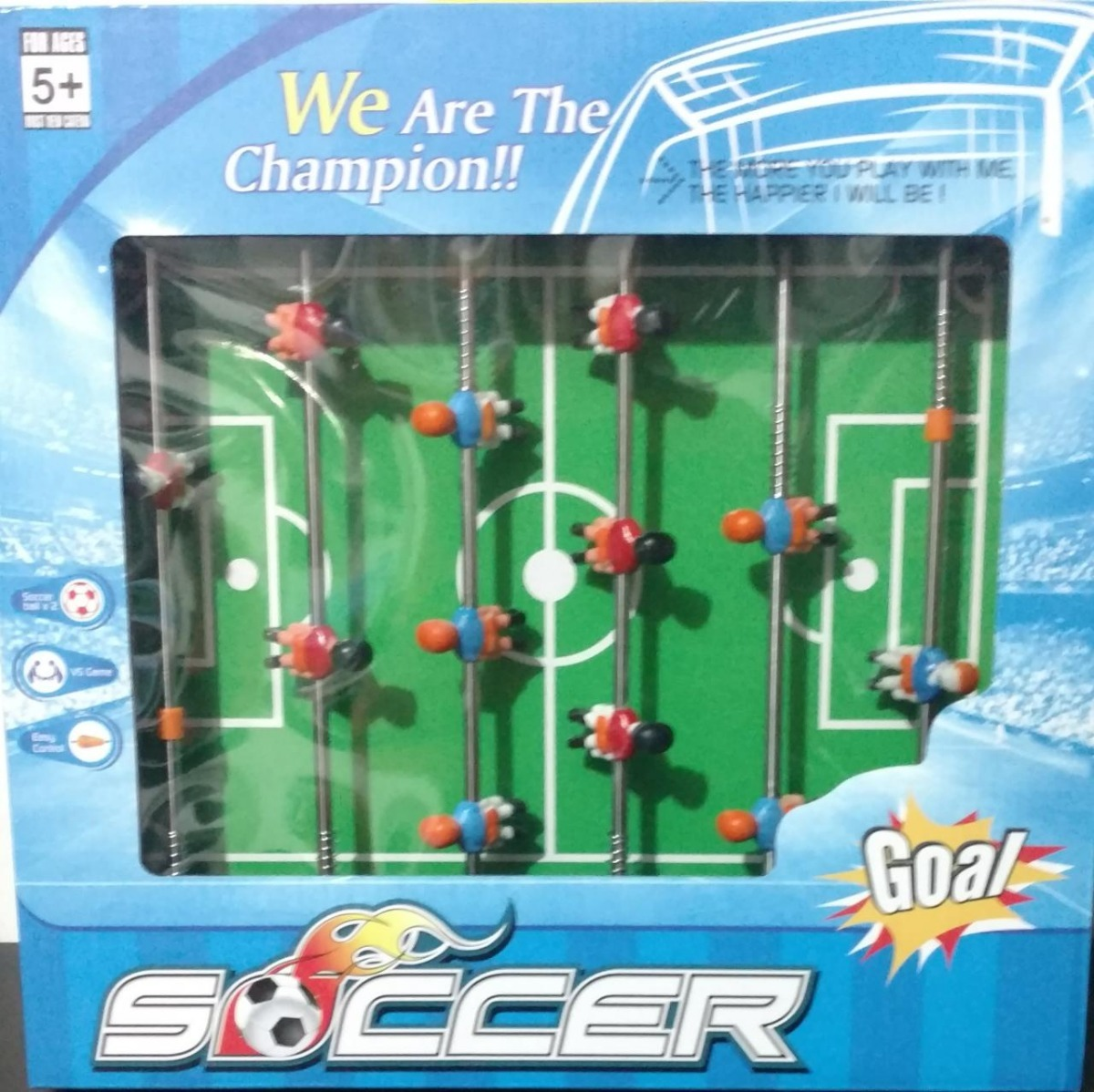 Juego De Mesa 6 En 1 Soccer Juguetes Regalo Navidad S 29 50 En
