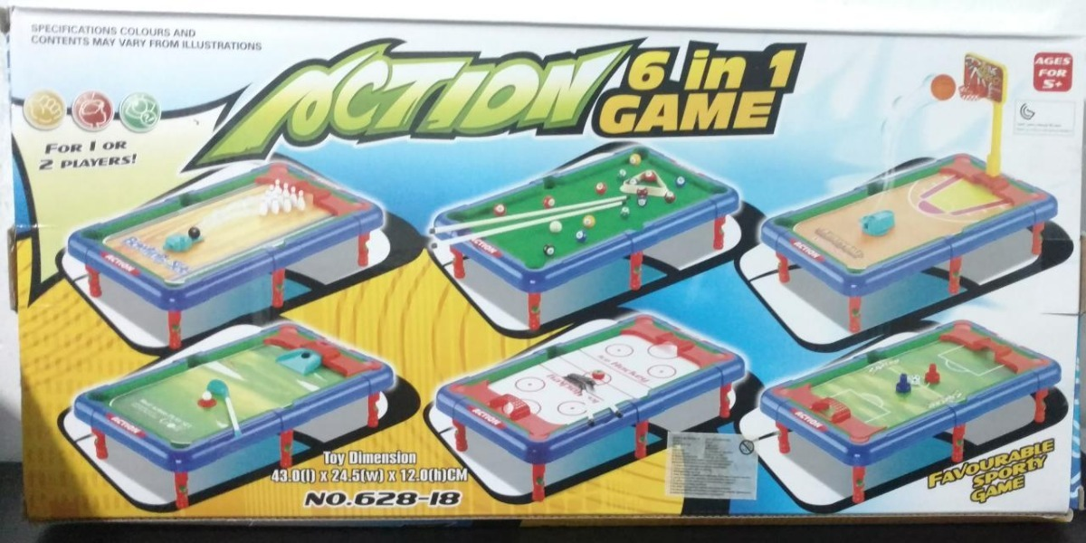 Juego De Mesa 6 En 1 Soccer Juguetes Regalo Navidad S 45 50 En