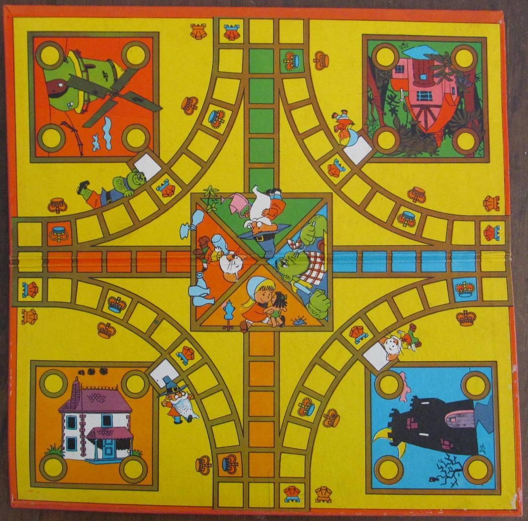 Antiguo Juego De Mesa El Ludo De Gatito 250 00 En Mercado Libre