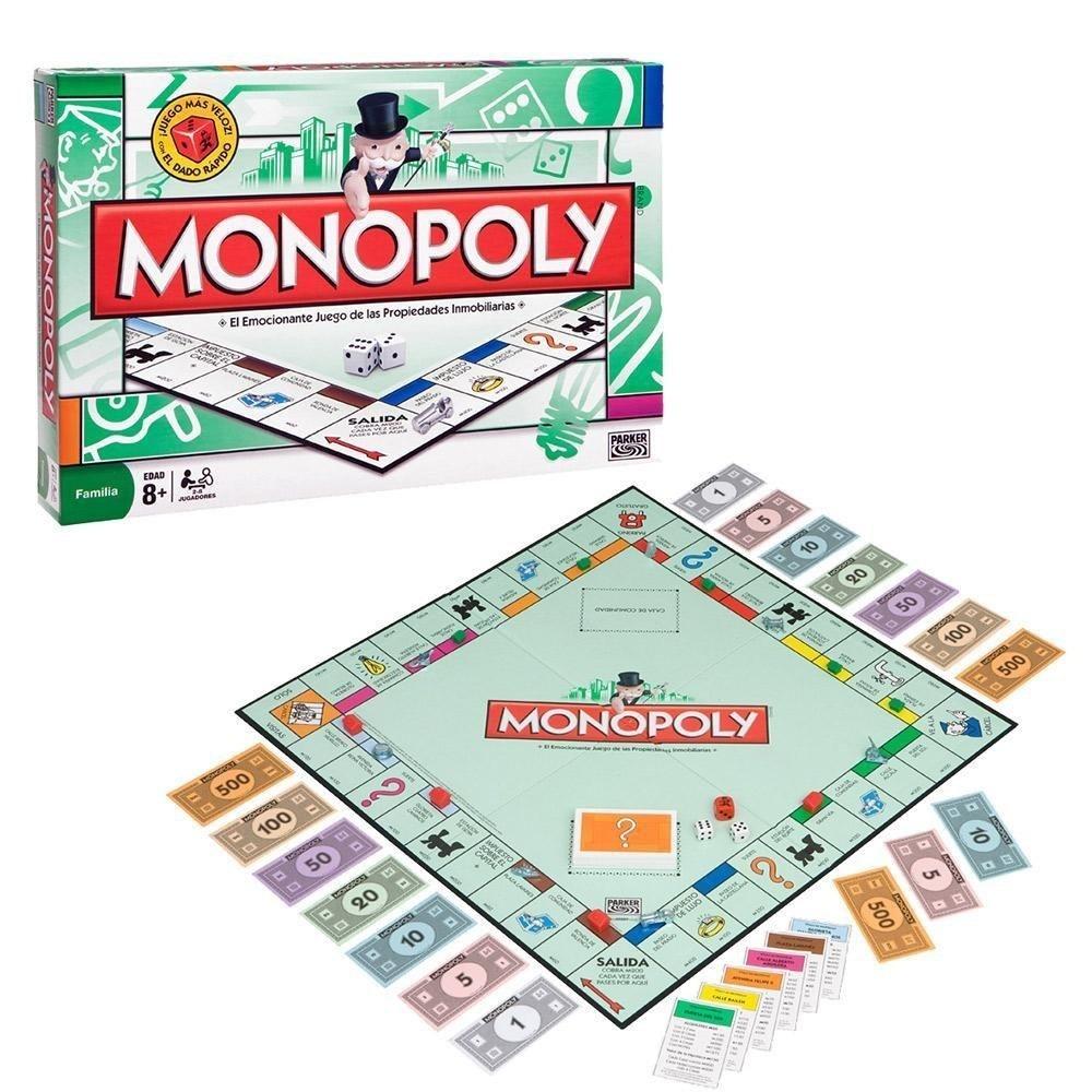 Juego De Mesa Monopoly Chico Familiar Monopolio 84894 720 00