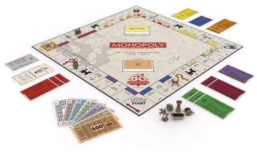 Juego Mesa Monopoly Aniversario 80 Anos B0622 Espanol 89 900 En