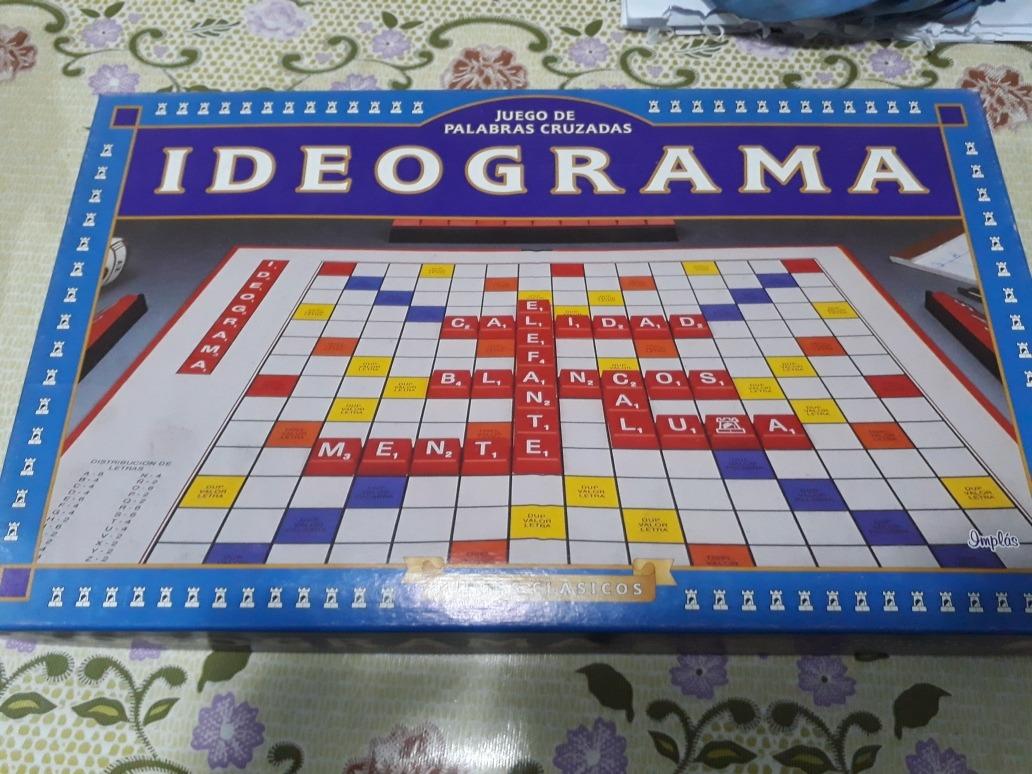 Juego De Mesa Ideograma Scrabble 499 00 En Mercado Libre