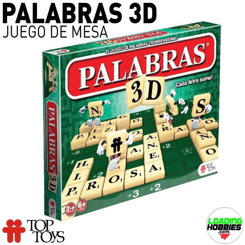 Palabras 3d Juego De Mesa Simil Scrabble Top Toys Belgrano 749