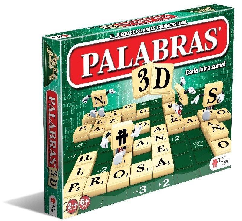 Palabras 3d Juego De Mesa Scrabble Barrio Norte Lanus Oferta 649