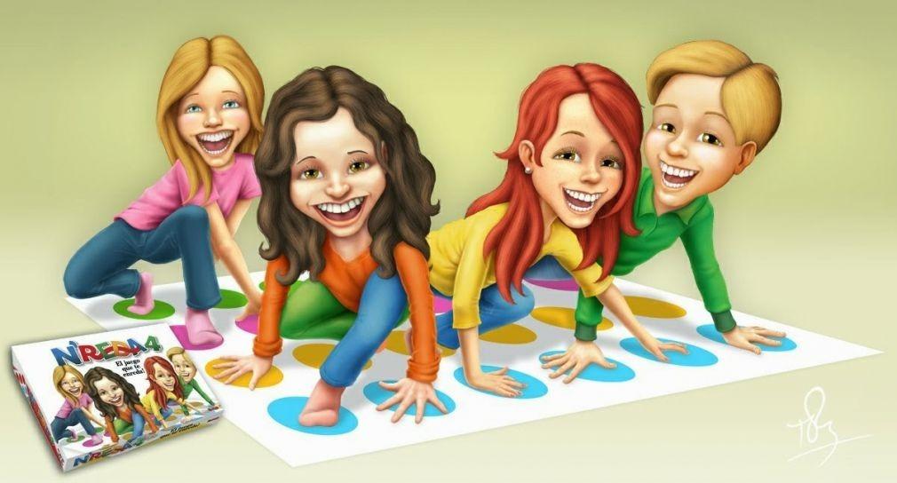Juego De Mesa Nreda4 Enredados T Twister Nupro Childrens 425 60
