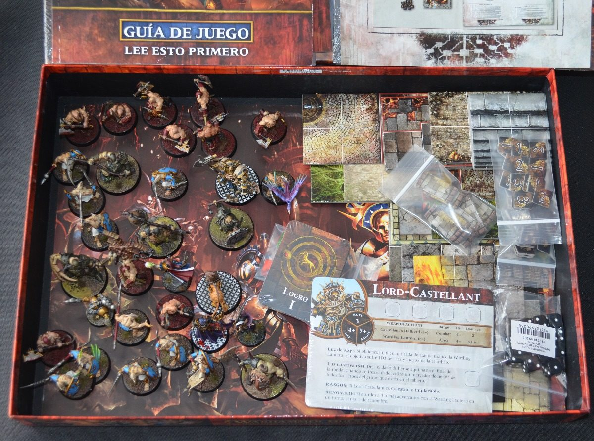 Juego Mesa Warhammer Quest Shadows Over Hamerhal Geosanx 1 499