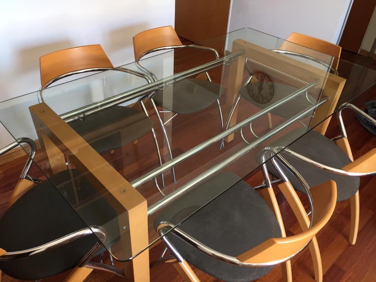 Juego Mesa Y Sillas De Comedor Diseño Moderno - $ 12.000,00 en ...