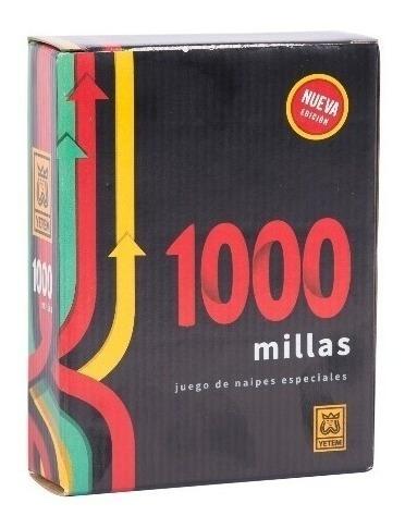 juego mil millas 1000 naipes especiales original de yetem