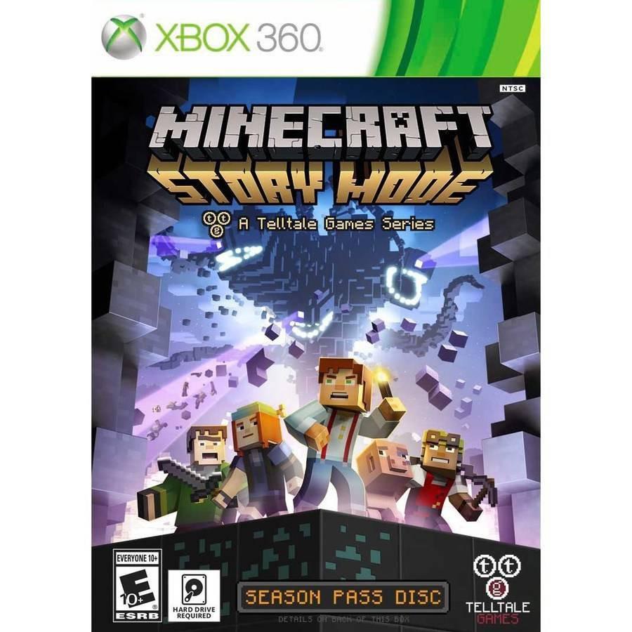 Juego Minecraft Para Xbox 360 Story Mode Temporada Disco