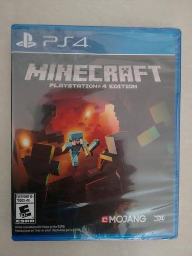 juego minecraft playstation 4 edition ps4 cd nuevo