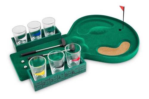juego mini golf drink 6 shots / mundo online