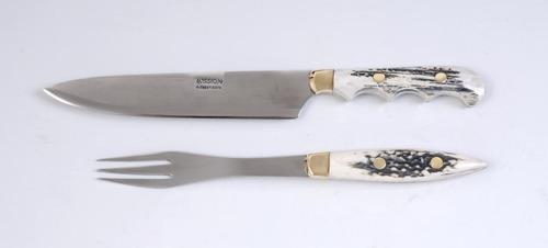 juego mission cuchillo tenedor hoja vaina 16 cm 0822