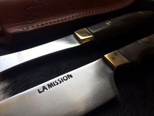 juego mission cuchillo tenedor parrilla hoja 16 cm. fábrica!