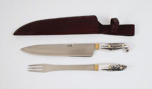 juego mission cuchillo tenedor parrilla hoja 24 cm. fábrica!