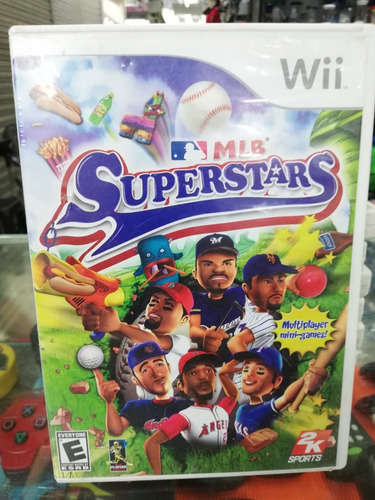 juego mlb superstars wii