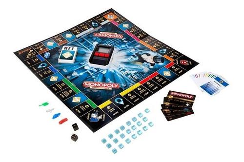 juego monopoly banco electrónico - hasbro