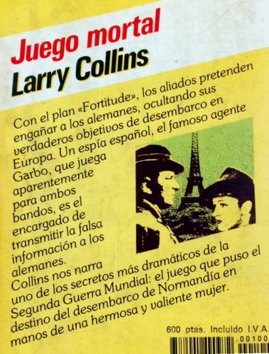 juego mortal larry collins novela segunda guerra / n pj jet