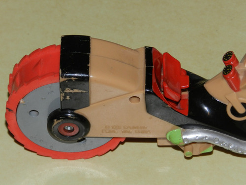 juego - moto - el asiento eyecta cuando choca