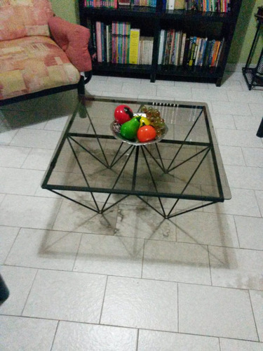 juego muebles en tubo de hierro con detalles