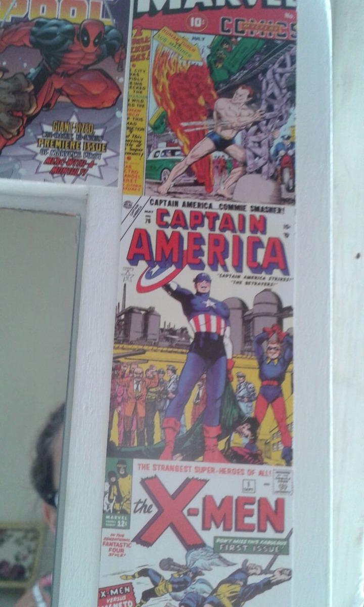 Juego Muebles Laqueados Ni O Marvel Superheroes 3 990 00 En  # Muebles Fiction