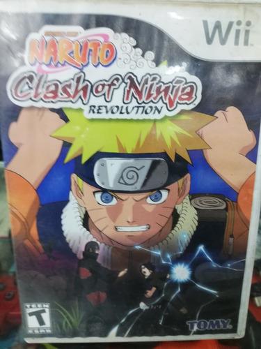 juego naruto clash of ninja revolution wii