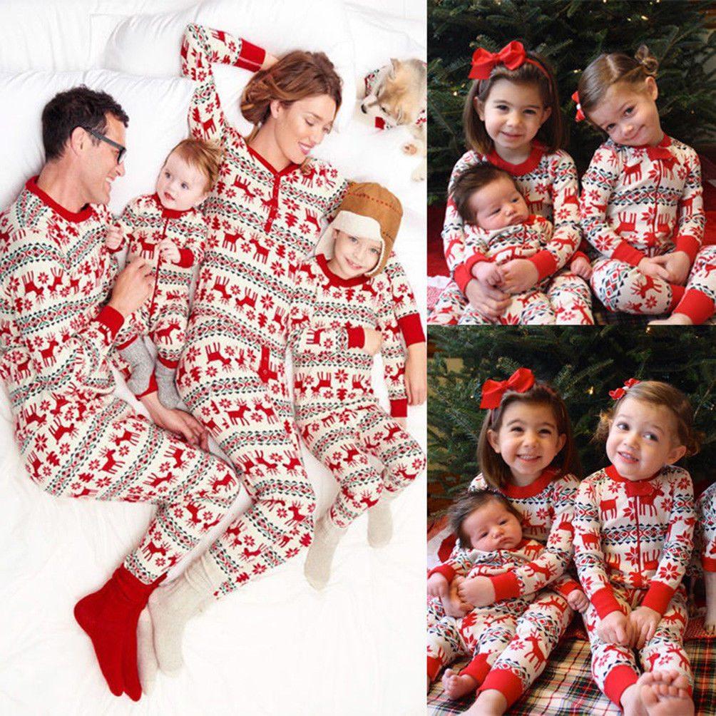 Juego Navidad Familia Pijamas Conjunto Ropa Xxl Women
