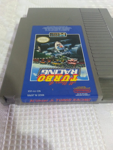 juego nes nintendo turbo racing original excelente estado