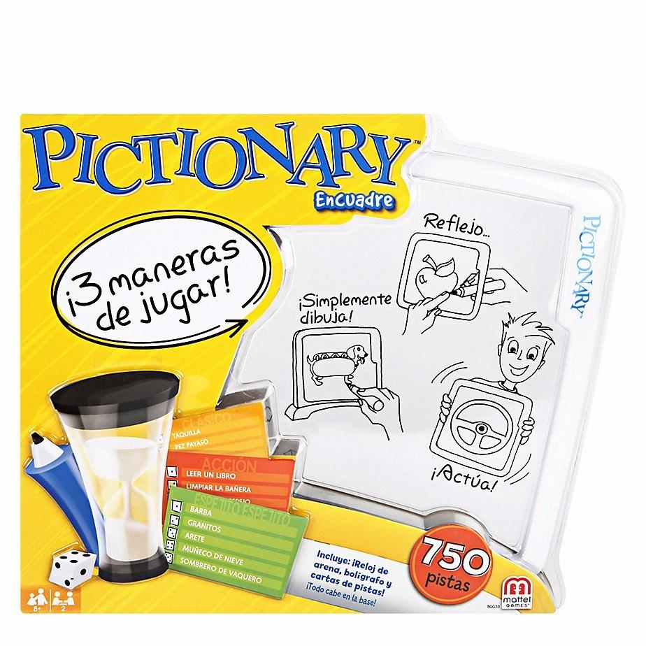 Juego Niños Pictionary Encuadre Magico Mattel Games Bgg33 - $ 99.900 ...